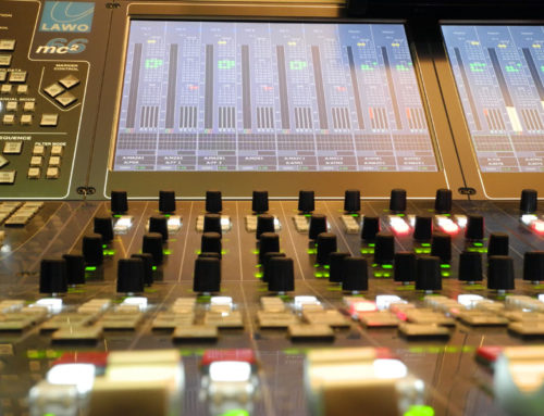 Upgrade for audio control room 1