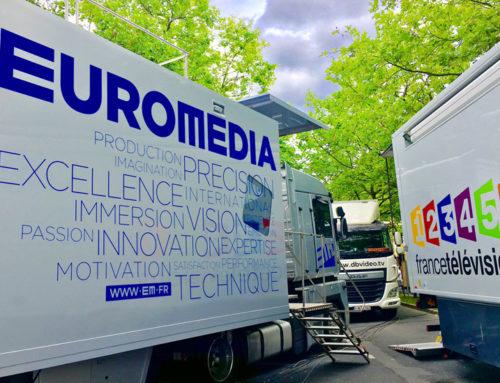 EUROMEDIA BEI DER TOUR DE FRANCE 2017