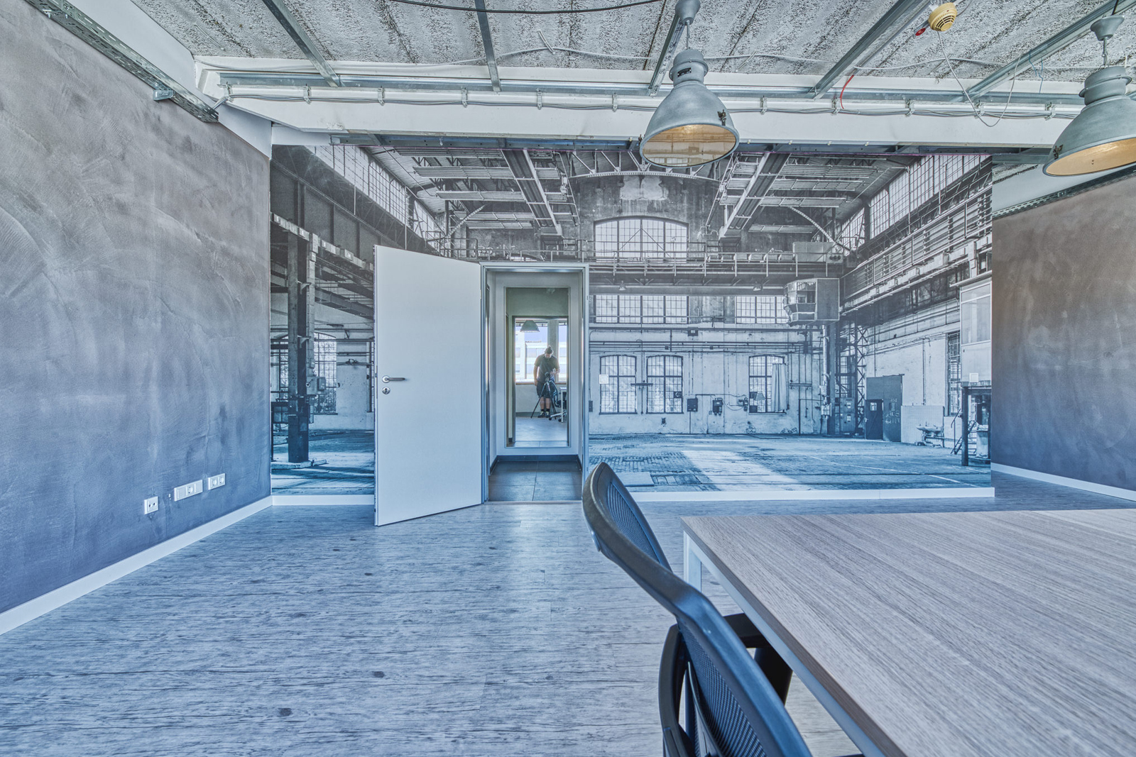 nobeo Werkstatt Obergeschoss